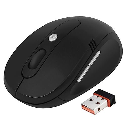 Insten 2.4GHz Wireless Mouse with Nano Receiver - Black