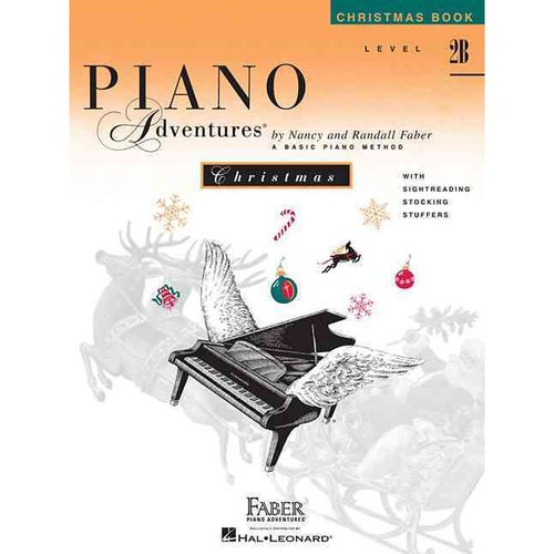 Piano Adventures Christmas Book, Level 2B: The Basic Piano Method