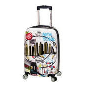 """Rockland Luggage 20"""" Hardside Polycarbonate Carry On F2061"""