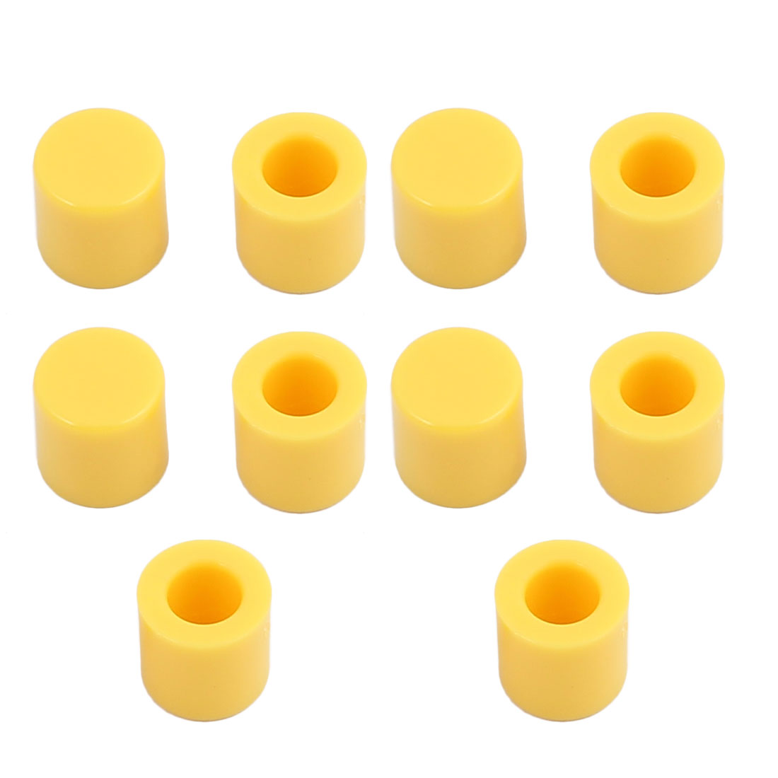 10Pcs Round Shaped Tactile Button Caps Covers f 6x6mm Tact Switch
