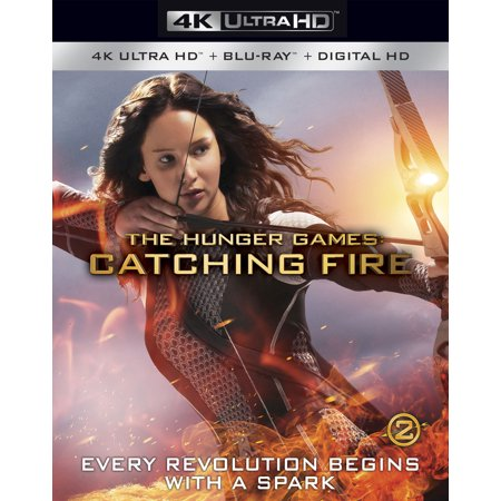 The Hunger Games: Catching Fire (4K Ultra HD + Blu-ray + Digital HD) - Hunger Games Themed Games