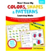 Scholastic Now I Know My Colors, Shapes And Patterns Learning Mat
