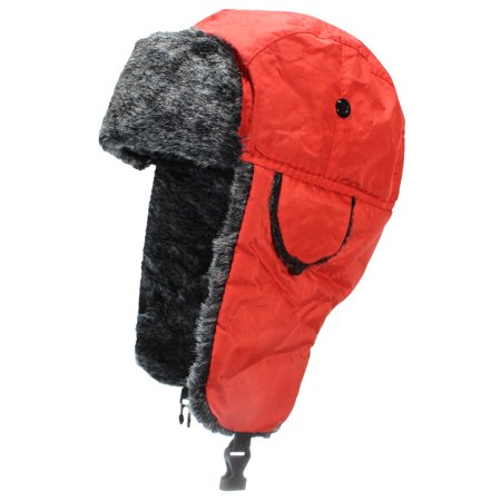 1bffafdcdad824 Best Winter Hats - Best Winter Hats Big Kids Nylon Russian/Aviator Winter  Hat (One Size) - Red - Walmart.com