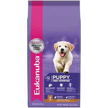 Eukanuba Lamb & Rice Puppy Dry Dog Food, 5 Lb