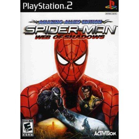 Spider-Man: Web of Shadows - PlayStation 2 (Spiderman Web Of Shadows Wii)