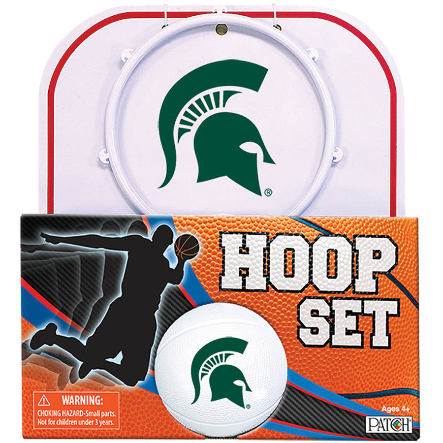 Officially Licensed NCAA Michigan State Hoop Set