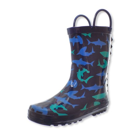 Lilly Boys' Rain Boots (Sizes 11 - 3) ()