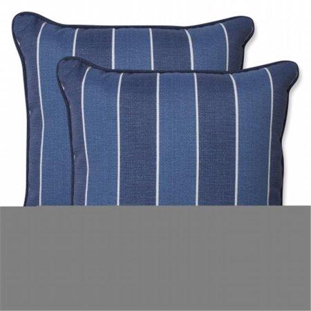 Pillow Perfect 568423 Wickenburg Indigo Throw Pillow 18.5 in. - Set of 2 - image 1 of 1