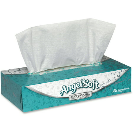 - Angel Soft PS Angel Soft ps Facial Tissue, White, 100 / Box 30 Count