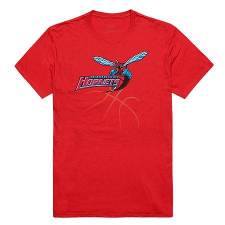 State Hornets Basketball - Delaware State University Hornet NCAA Basketball Tee T-Shirt