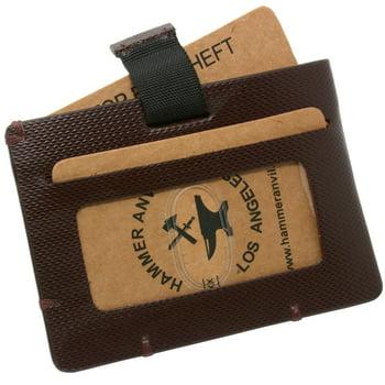 Hammer Anvil Minimalist Front Mens Wallet