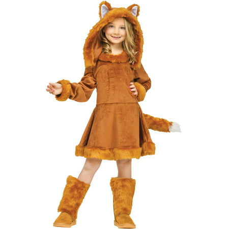 Sweet Fox Child Halloween (Wayne's World Girl Halloween Costumes)