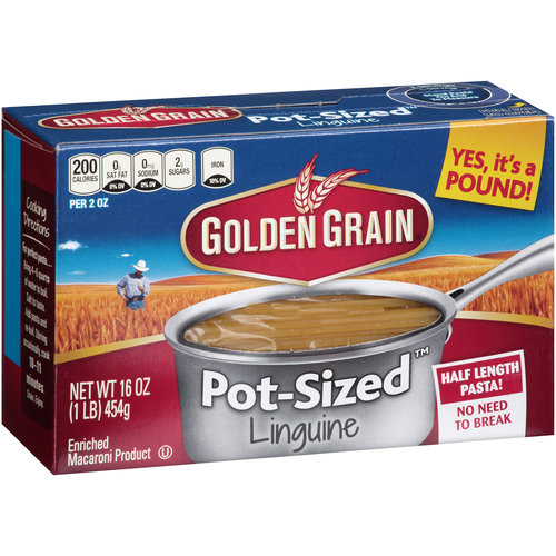 Golden Grain Pot-SizedLinguine Pasta, 16 oz