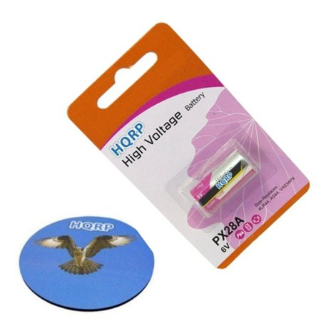 - HQRP 6-Volt Battery for Innotek ADV-300 ADV-300E ADV-300P ADV-300P-22 Receiver Dog Collar + Coaster