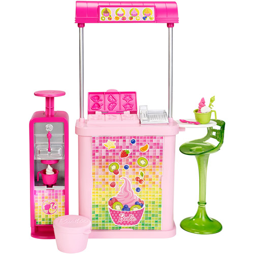 Barbie Kiosk Yogurt Shop