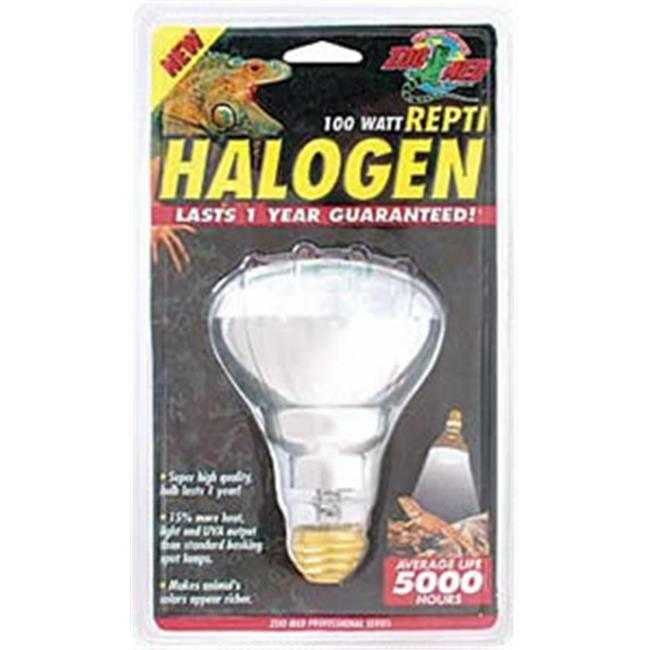 Zoo Med Labs 850-97075 Zoo Med Halogen Heat Lamp For Reptiles 75w