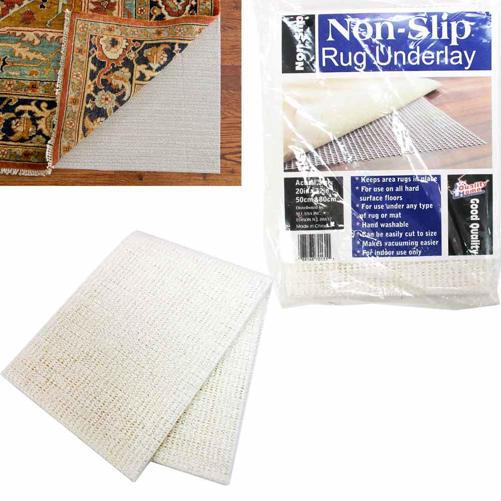 Area Rug Pad 20x32 Non Skid Slip Underlay Nonslip Pads Super Grip Rugs Hardwood by MY IMPORTS USA