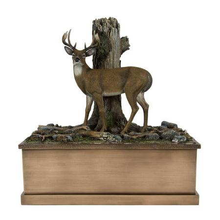 - Perfect Memorials Large Deer Cremation Urn