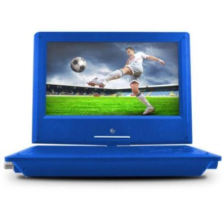 Ematic Epd919btu Portable Dvd Player – 9″ Display – Blue – Dvd-r, Cd-r – Dvd Video – Cd-da, Mp3 (epd919btu)