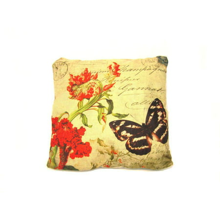 - Butterfly Decorative Throw Pillow Cushion Sofa / Bed - 16
