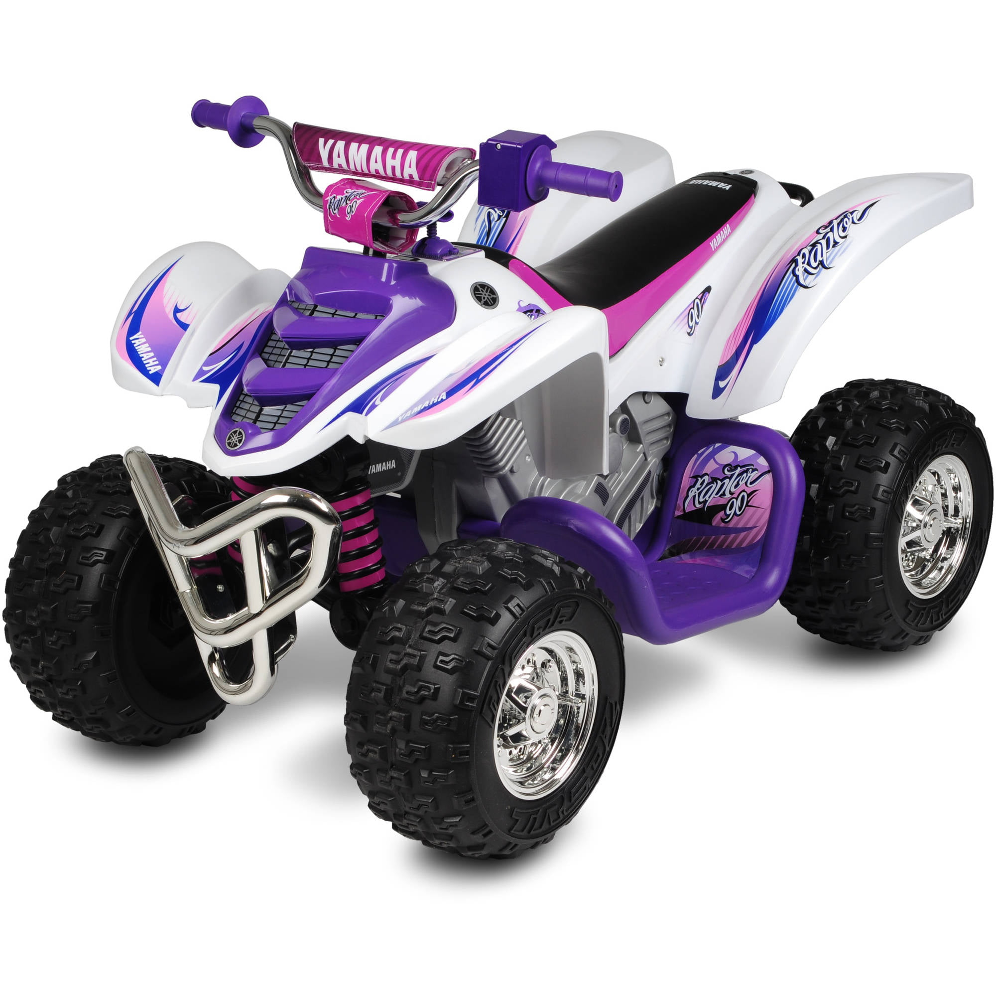 Yamaha Raptor ATV 12 Volt Battery Powered Ride Walmart
