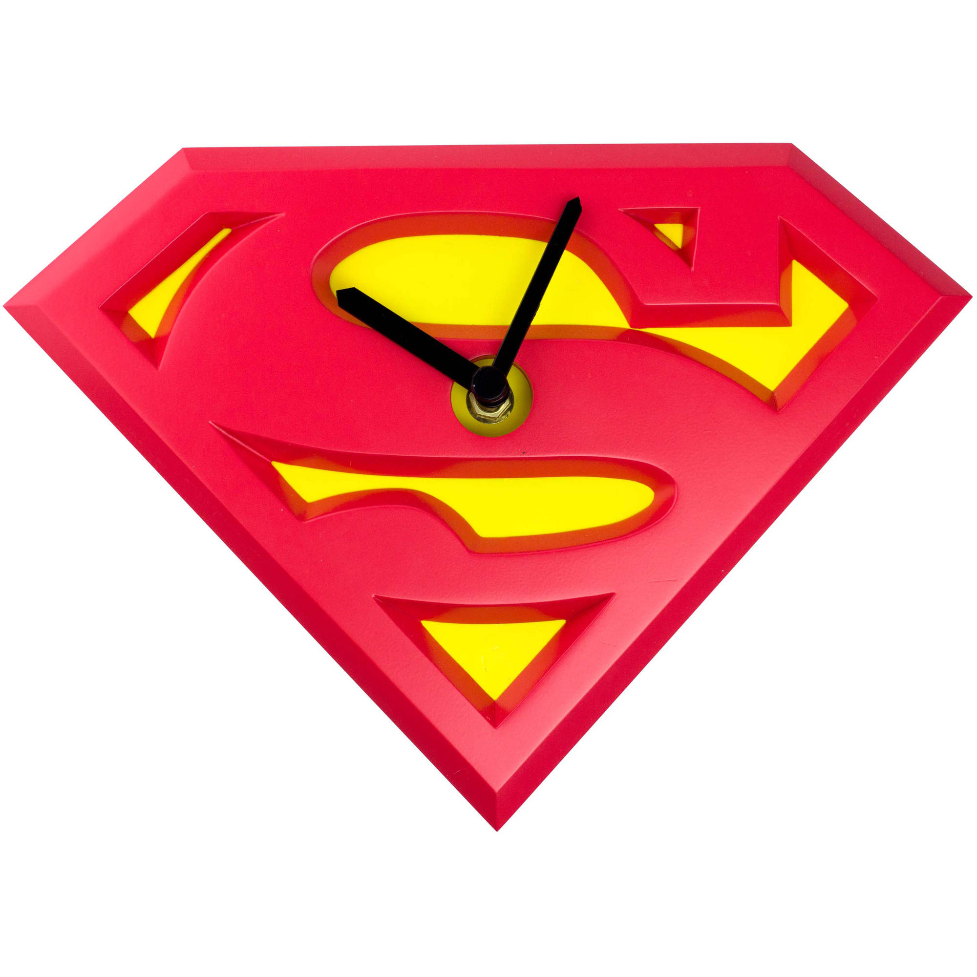 NJ Croce Superman Logo Wobble Clock, WC 3913