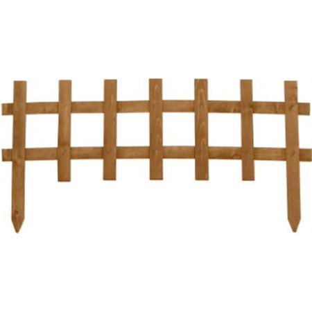Greenes Fence RC 75B Cedar Stain Deluxe Cape Cod Picket Fence, 18-In. x (Cz 75b Best Price)