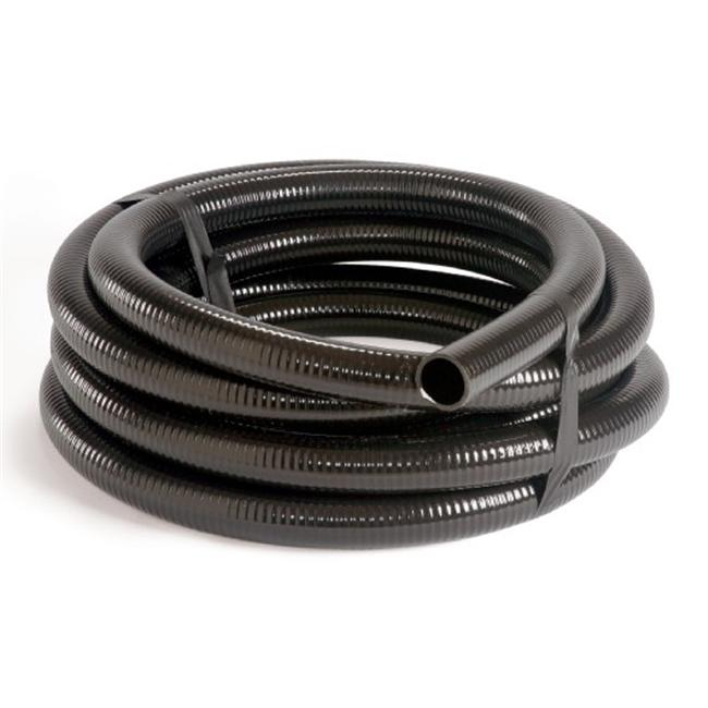 Atlantic Water Gardens FH225 PVC Black Flex Pipe 2 Inch x 25 Feet
