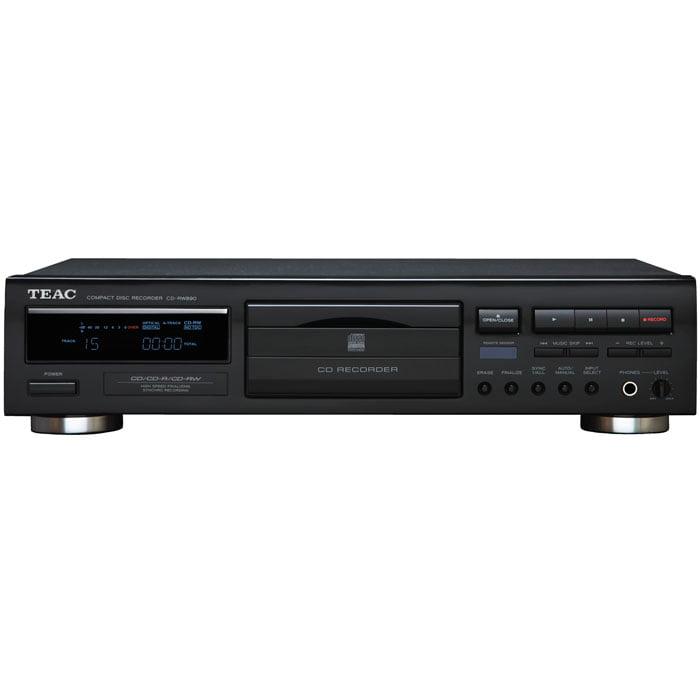 TEAC CD-RW890 Digital CD-R RW CD Player Audio Recorder Shuffle Play with Remote by TEAC
