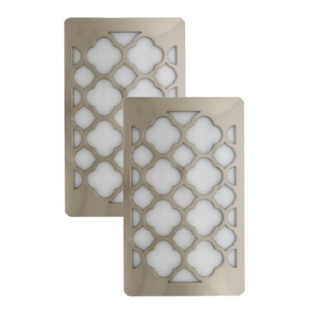 Plug-In LED Night Light Decorative Wall Plate Outlet Cover ...