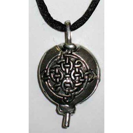 Celtic Scent Pewter Locket Necklace Fashion Goddess Jewelry (Goddess Locket)
