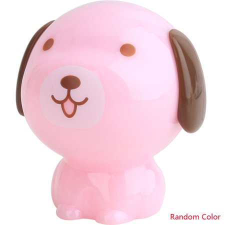 Cute Cartoon Dog Pencil Sharpener Manual Mechanical Pencil Sharpener Transparent Candy Colored for Kids - Cute Pencil Sharpener