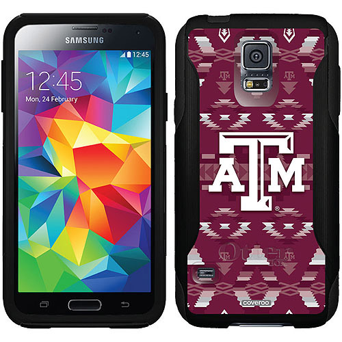 Texas A Tribal Design on OtterBox Commuter Series Case for Samsung Galaxy S5