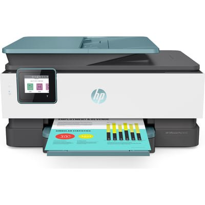 HP OfficeJet Pro 8035 Color All-in-One Wireless Printer, Oasis