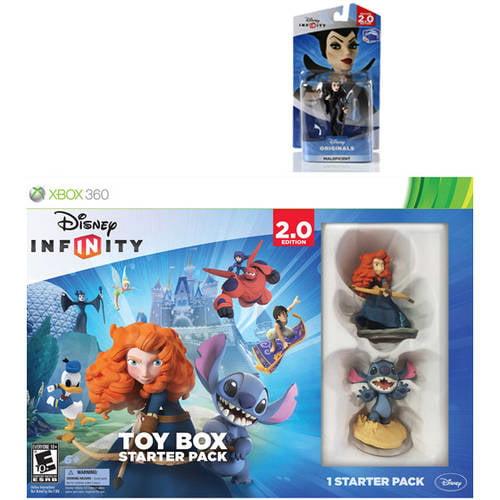 Disney Infinity: Disney Originals (2.0 Edition) Toy Box Starter Pack with Bonus Figure