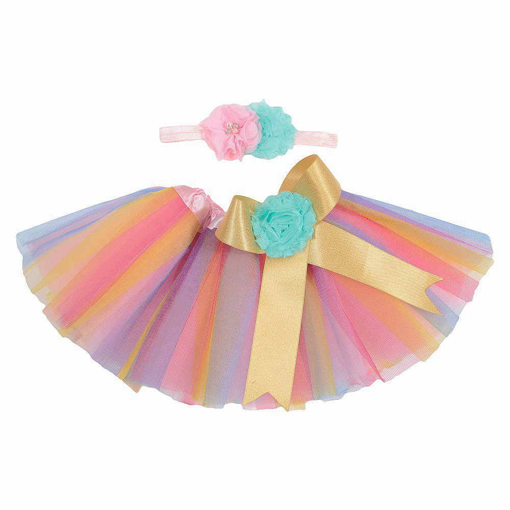 Baby Girl/'s Tutu and Headband Set Made To Order Any Color or Size Photo Prop Unique Hair Bow /& Tutu Set Birthday Tutu
