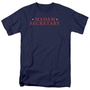 Madam Secretary Logo Mens Short Sleeve Shirt