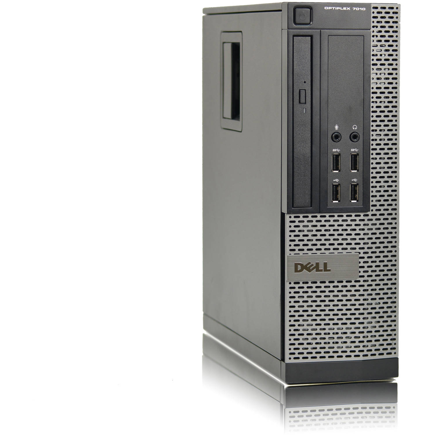 Refurbished Dell 7010-SFF Desktop PC with Intel Core i5-3470 Processor, 8GB Memory, 1TB Hard Drive and Windows 10 Pro (Monitor Not Included)