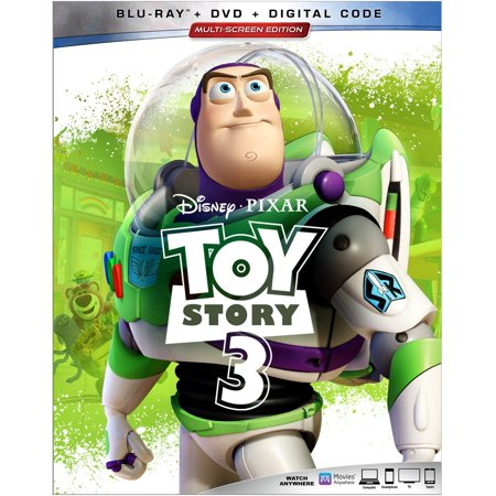 Toy Story 3 (Blu-ray + DVD + Digital)](Toy Story Halloween Vhs)
