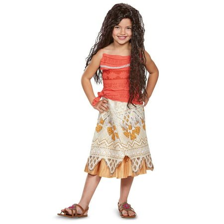 Disney Princess Moana Classic Child Costume - Kids Disney Princess Costumes