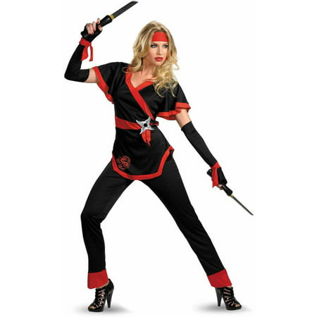 Ninja Dragon Women's Adult Halloween Costume - Badass Ninja Costume