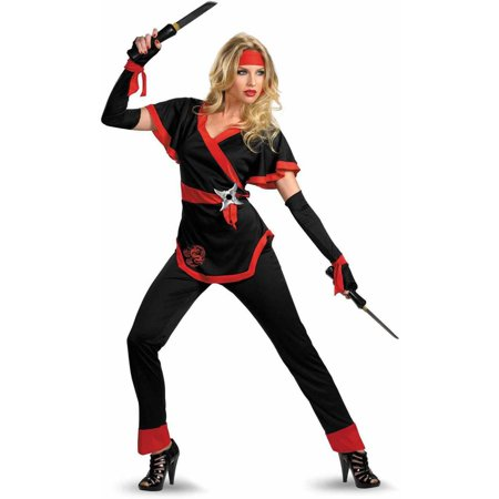 Ninja Dragon Women's Adult Halloween Costume (Best Ninja Costume Ever)