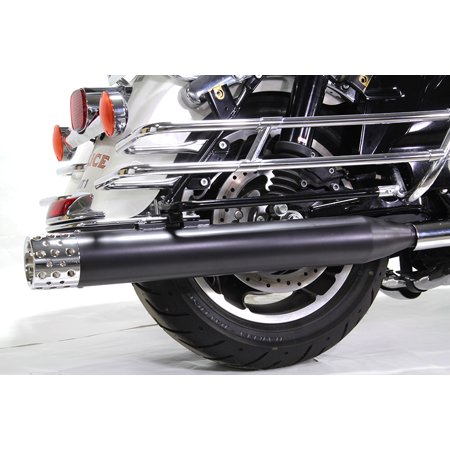 - Wyatt Gatling Muffler Set with Shooter Style End Tips,for Harley Davidson,by V-Twin