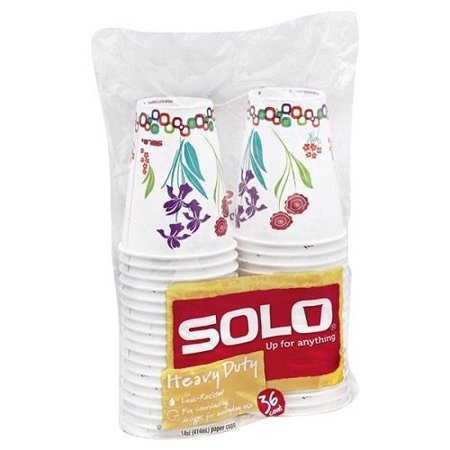 Solo 14 oz. Heavy Duty Paper Cups (Pack of 8)