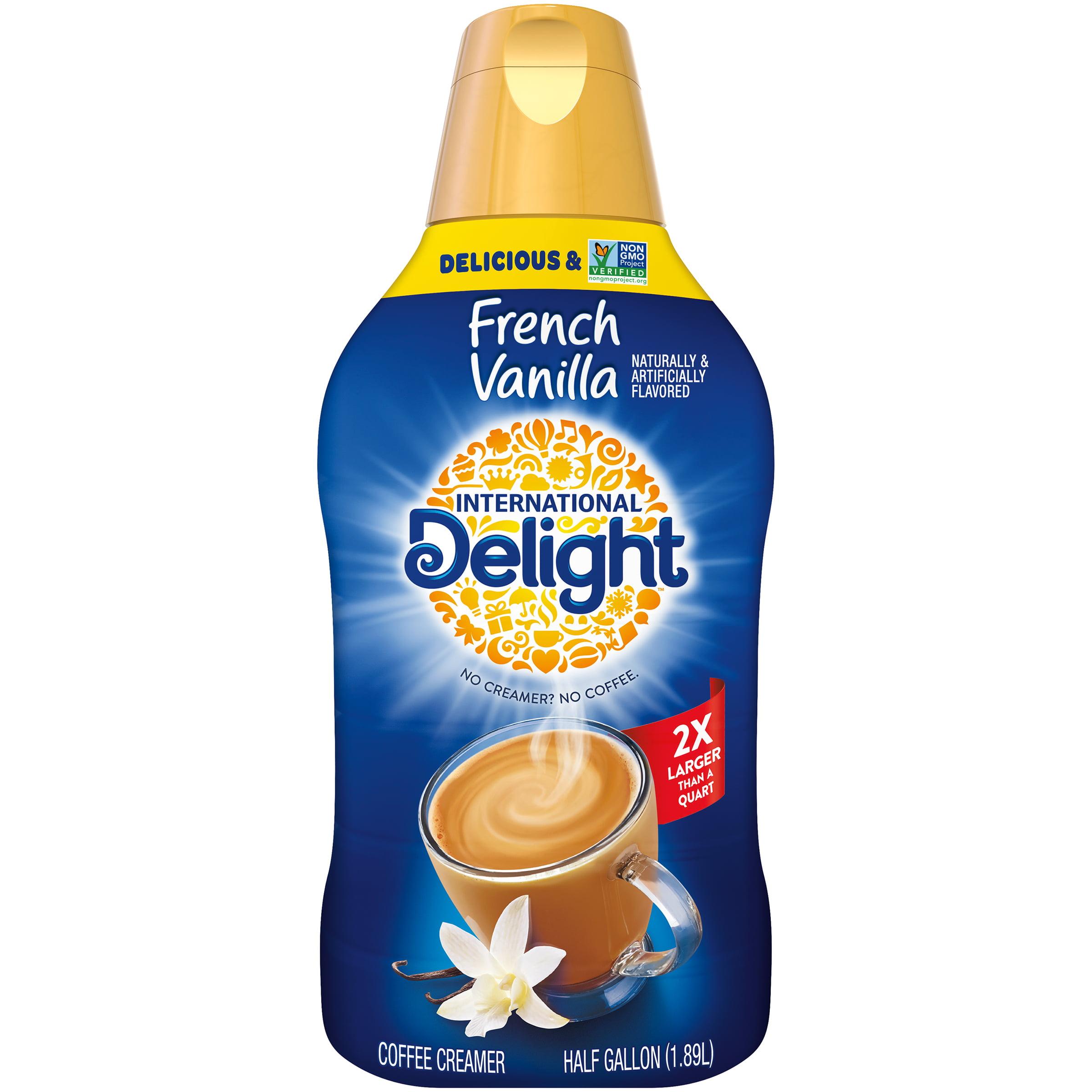 International Delight French Vanilla Coffee Creamer, Half Gallon    Walmart.com