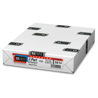 NCR Superior 2-part Carbonless Inkjet Paper, Letter, 500 sheet