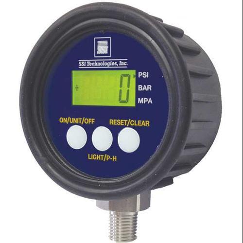 Ssi Digital Pressure Gauge, MG1-1000-A-9V-R