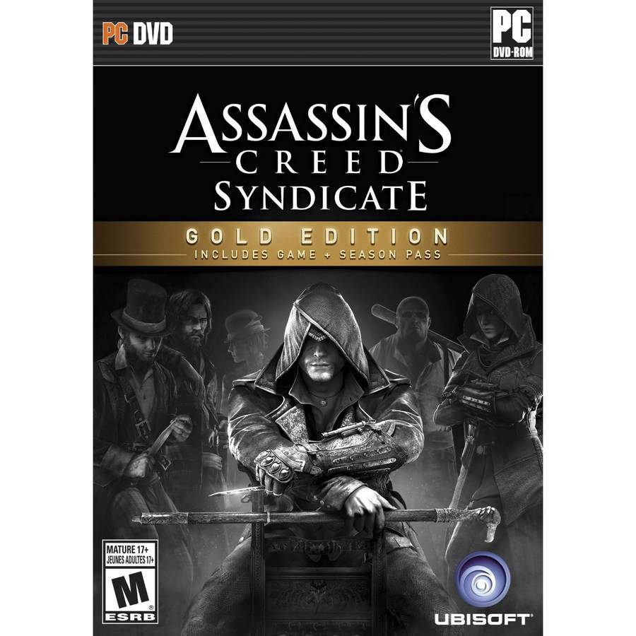 Assassin's Creed: Syndicate Gold Edition, Ubisoft, PC, 887256013950