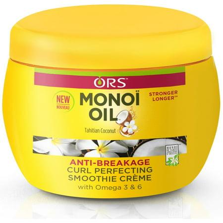 ORS Monoi Oil Anti-Breakage Curl Perfecting Smoothie Creme 8