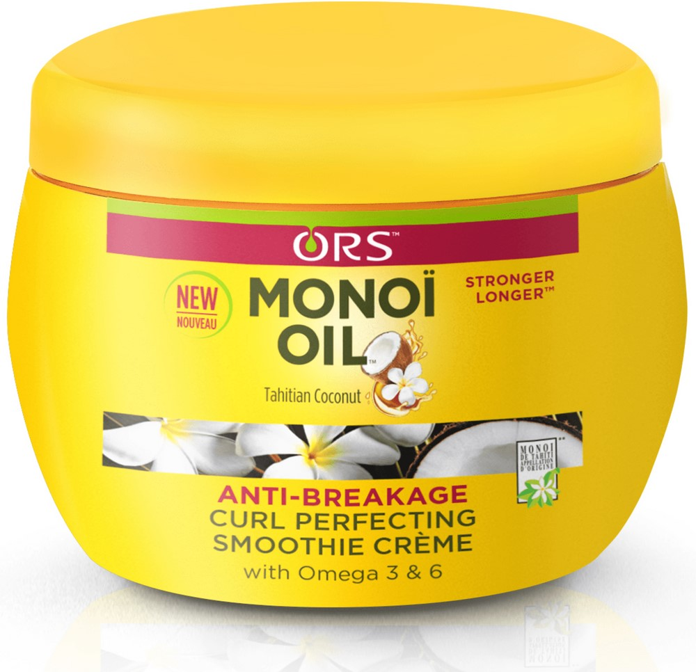 ORS Monoi Oil Anti-Breakage Curl Perfecting Smoothie Creme 8 oz